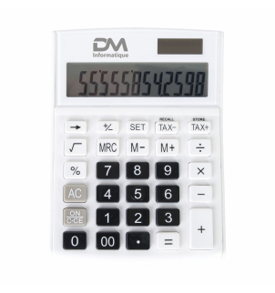 CALCULATRICE A/FONCTION TAXES