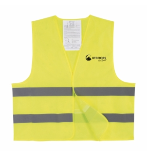 GILET SECURITE XL IMP.COEUR
