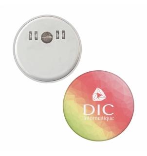 AIMANT DIAM. 5.8 CM AVEC PINCE