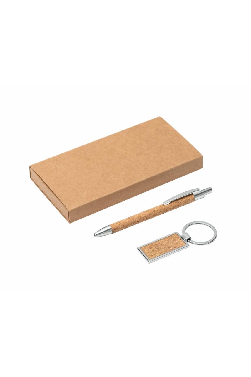 LAVRE. Ensemble stylo et porte-clés