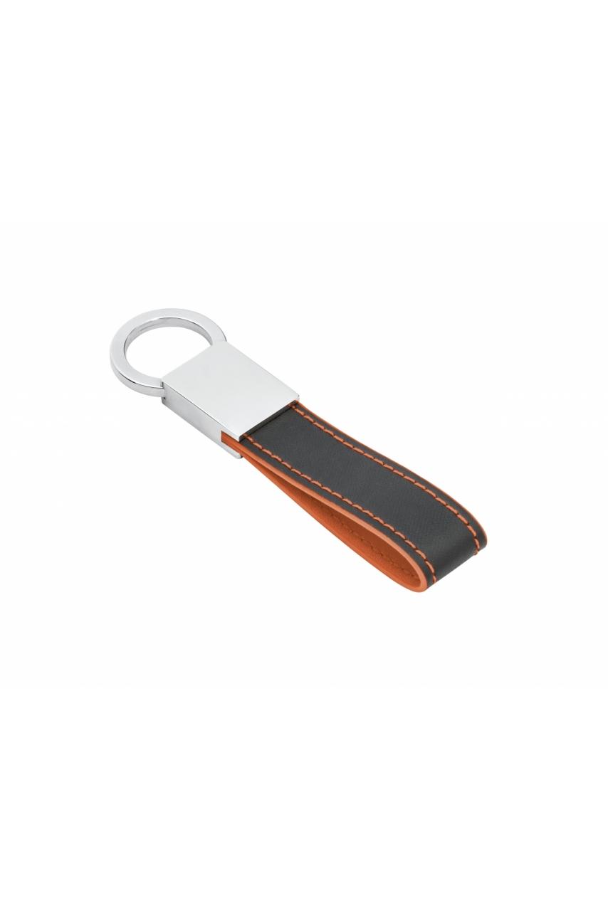 LESKOV. Porte-clés en métal et simili cuir