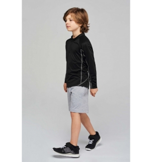 Sweat running 1/4 zip enfant