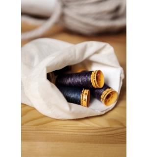 Sac à cordon coulissant en coton biologique