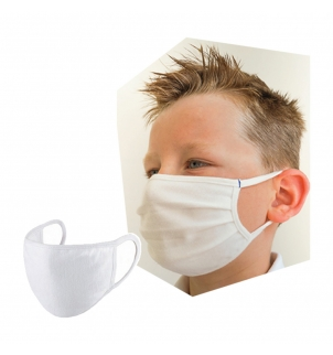 MASQUE CONFORT ENFANT - BLANC - CATEGORIE 1
