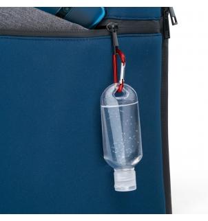 Gel hydroalcoolique 50 ml avec mousqueton porte-clés