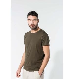 T-shirt coton Bio col rond homme
