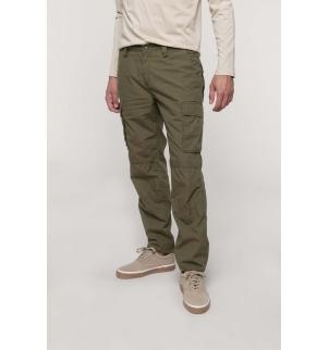 Pantalon léger multipoches homme