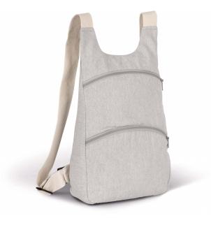 Sac à dos recyclé avec poche arrière antivol