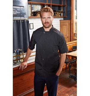 Veste chef cuisinier manches courtes