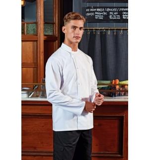 Veste chef cuisinier manches longues