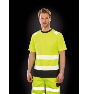 T-shirt de sécurité recyclé