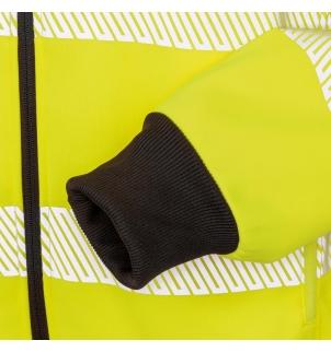Sweat-shirt à capuche de sécurité recyclé