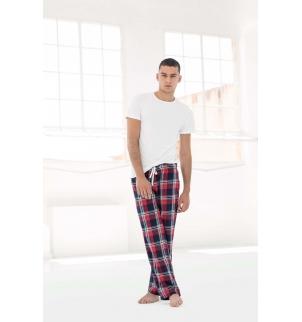 Pantalon homme à motif tartan