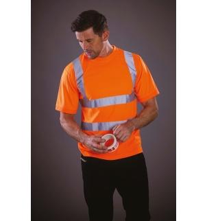 T-shirt manches courtes haute visibilité