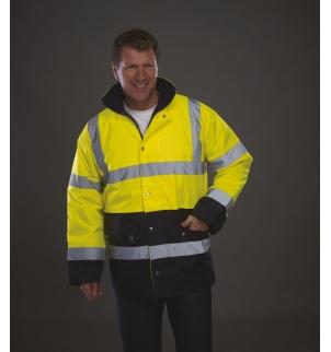 Veste de sécurité bicolore haute visibilité