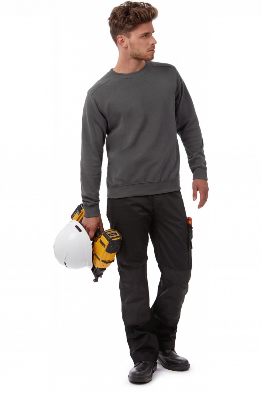 Sweat-shirt enfant col rond