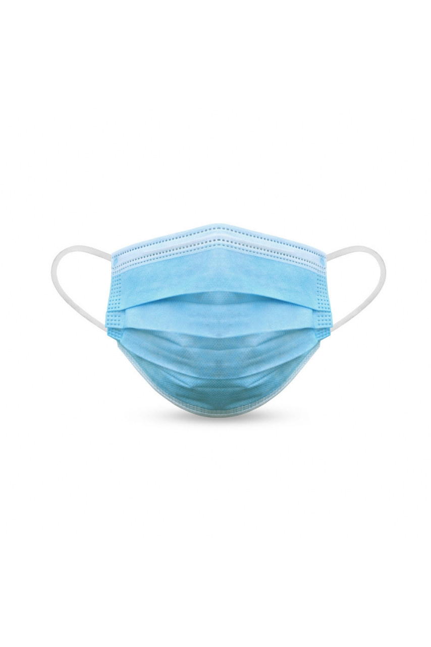 BOITE DE 50 MASQUES JETABLES TYPE CHIRURGICAL