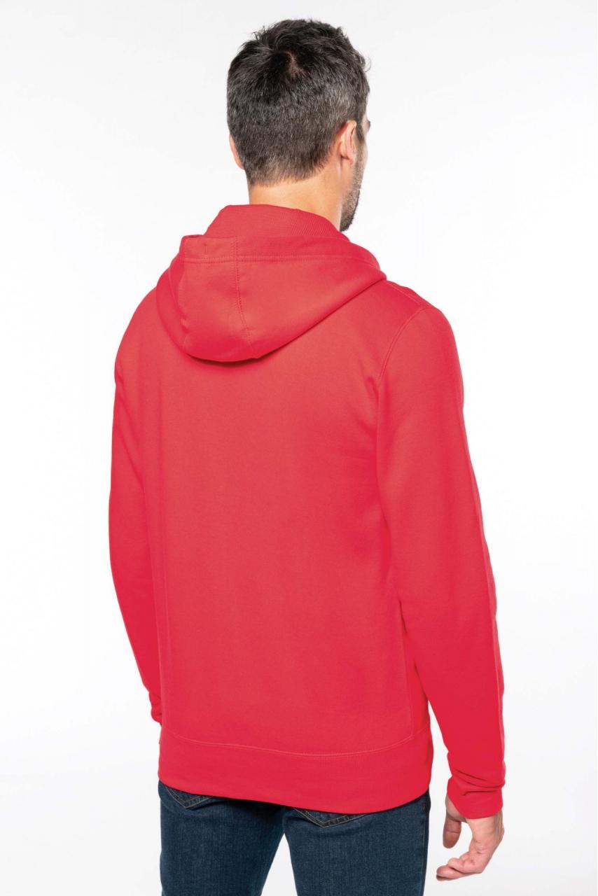 Sweat-shirt zippé capuche homme