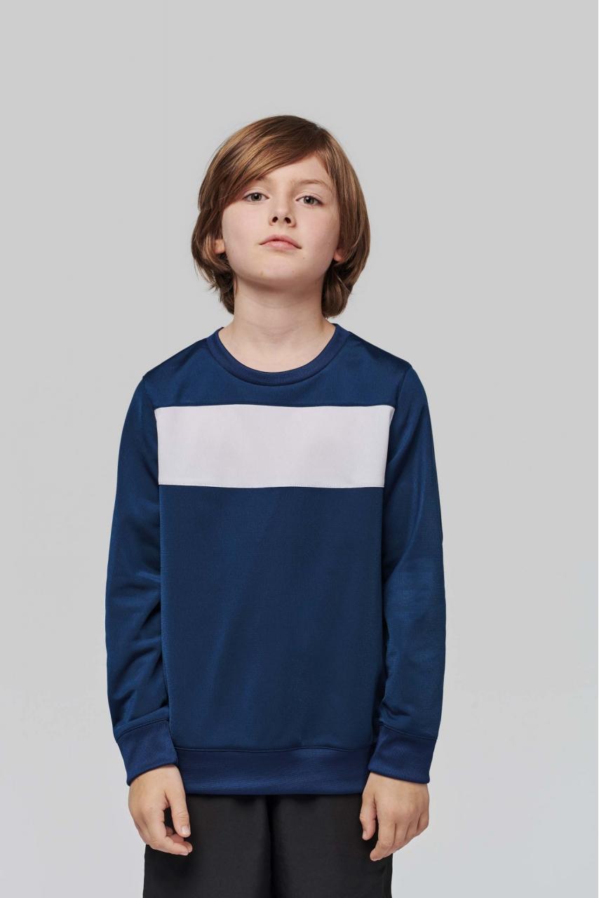 Sweat-shirt polyester enfant