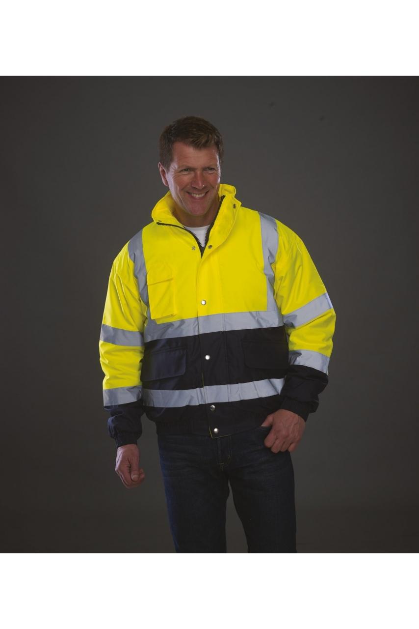 Blouson bicolore haute visibilité